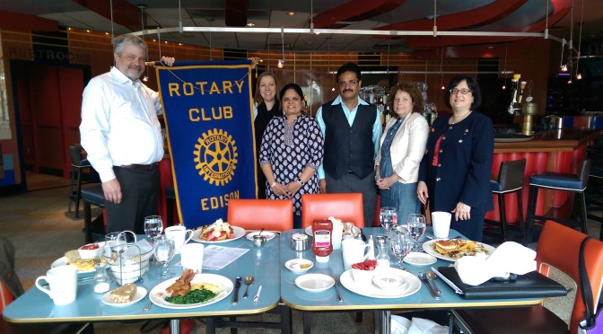 Visit from Rotary Club of Chennai Port City