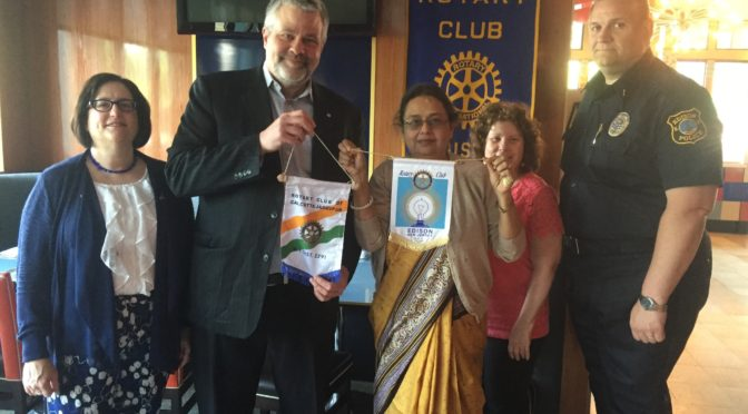 Visit from Rotary Club of Calcutta Jadavpur